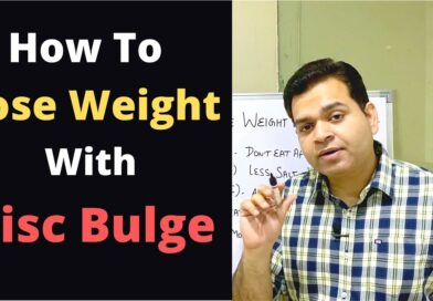 How to Lose Weight with Slipped Disc, Weight Loss With Lower Back Pain, Sciatica Weight Loss